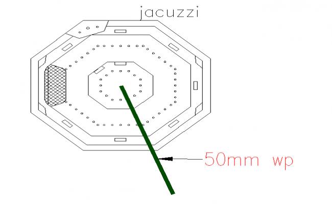 Jacuzzi Plan Block Detail
