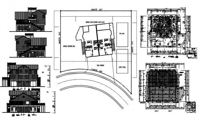Joint House Project AutoCAD Drawing