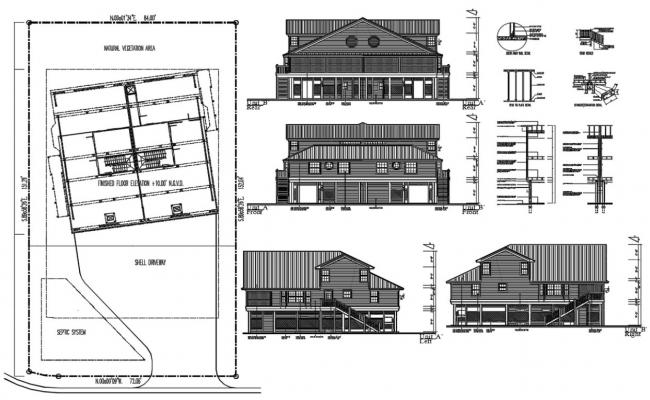 Joint House Project CAD Drawing