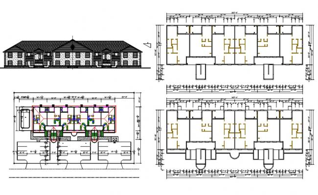 Joint House Project DWG File