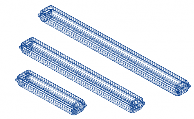 Kaptur_Lite_1200 electrical 3d wire frame view dwg file
