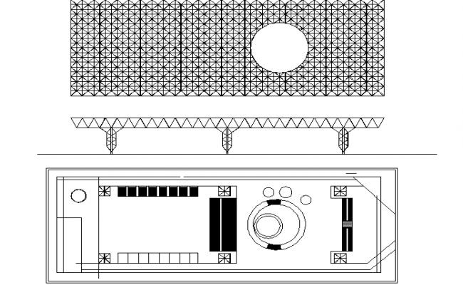 Ken zotangestand plan detail dwg file