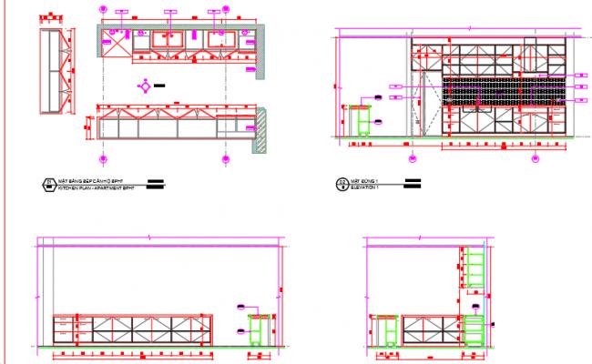 Kitchen details building B
