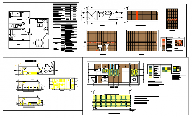 Interior Design Drawings Autocad