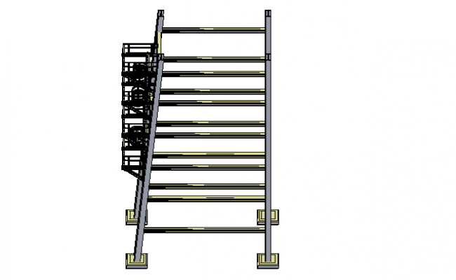 Ladder platform 3d file