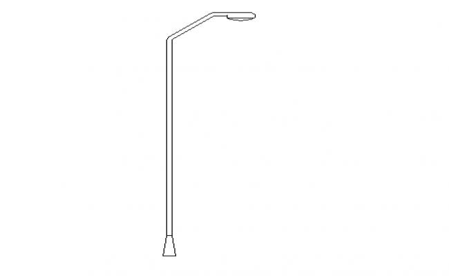 Lamp post 2d details