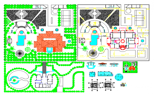 Landscape Design Autocad File