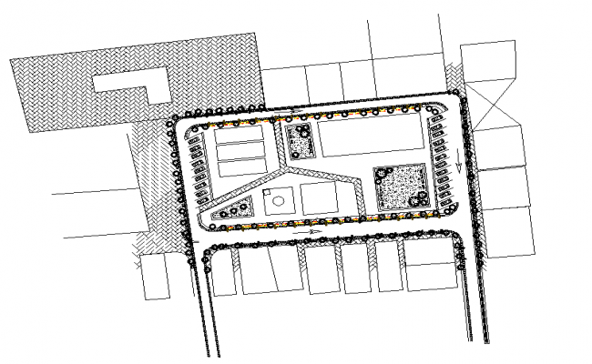 Landscaping Lay-out detail