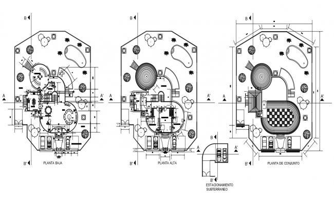Lavish House CAD Drawing