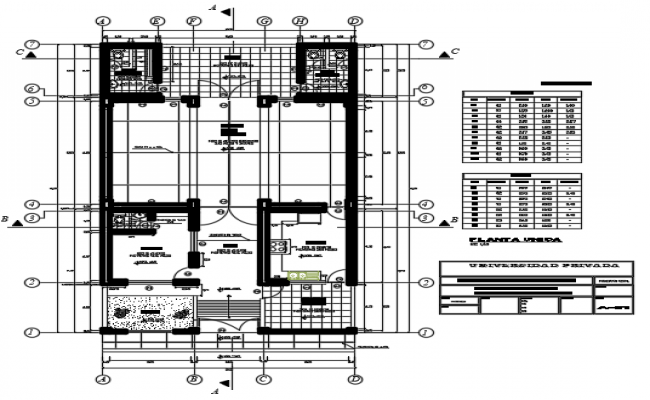 Layout Commercial working plan detail dwg file