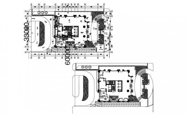 Download Free Hotel layout plan in AutoCAD