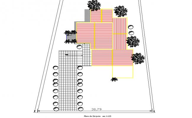 Layout plot detail