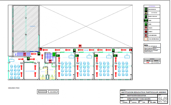 Layout working plan detail dwg file