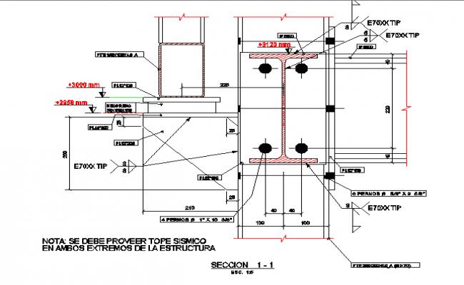 Leopard cage construction details dwg file
