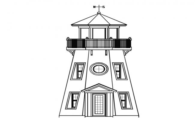 Lighthouse CAD Drawing download