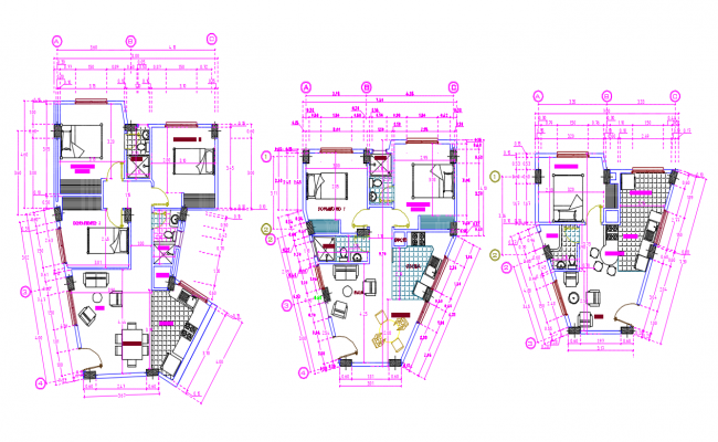 Living Apartment Drawing
