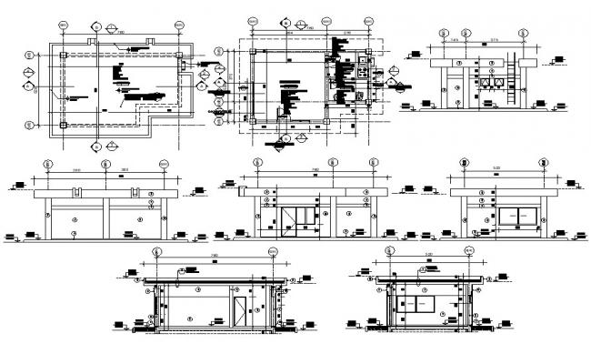 Living Room Project CAD File