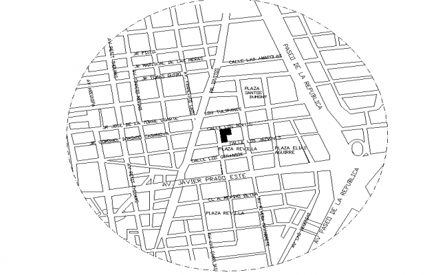 Location site plan layout file