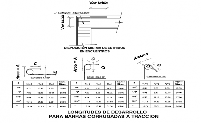 Longitude bolt nut detail dwg file