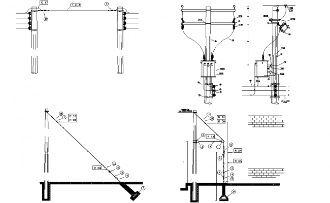 Low voltage network media network and street lighting plan layout file
