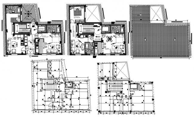 Luxury Bungalow House Plan