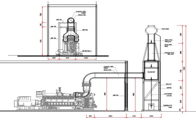 Machine CAD Drawing