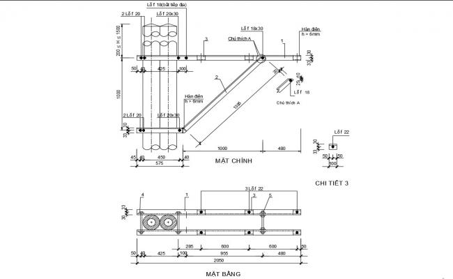 Machine Drawing CAD File Free Download