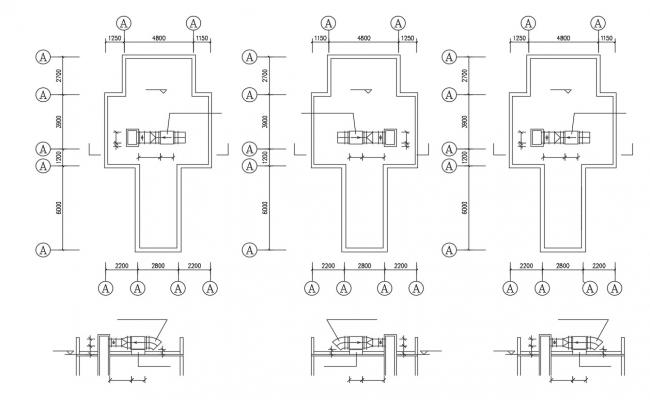 Machine Room Design Layout Plan