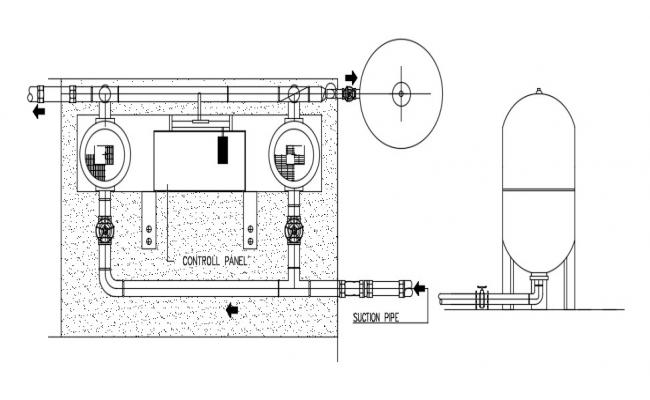 Machine Units Design 2d AutoCAD Drawing Free Download