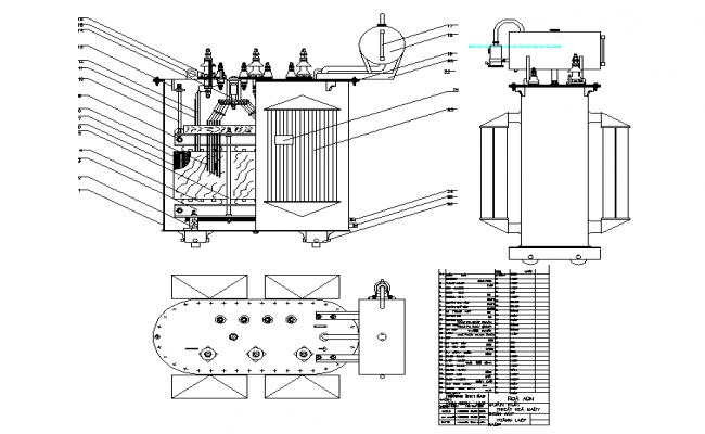 Machine design mechanical design