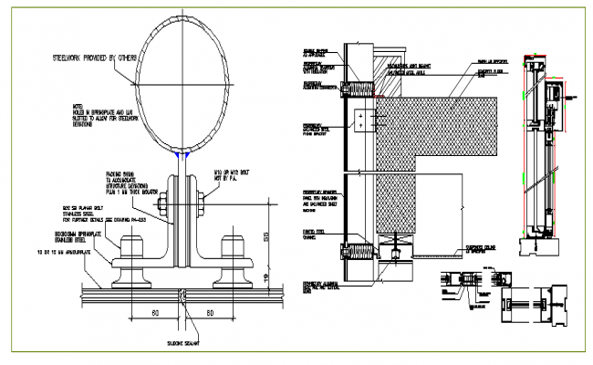 Machinery Design And Elevation dwg file
