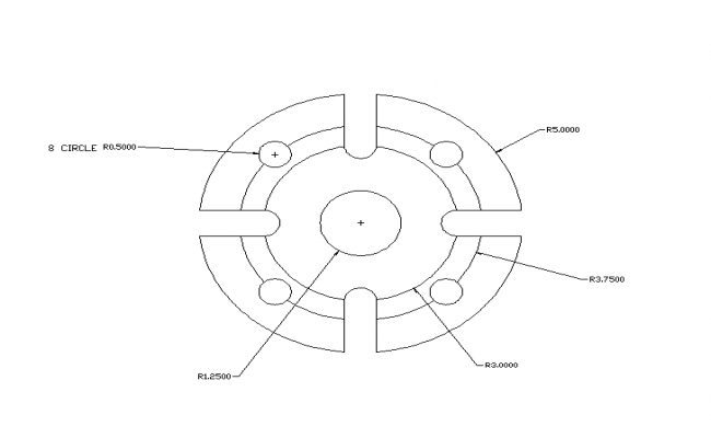 Machinery Part plan design.