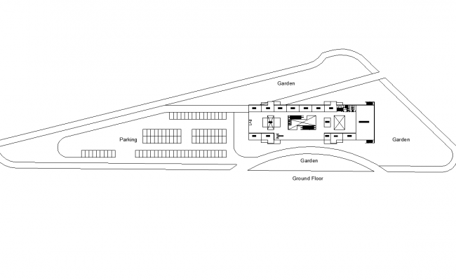 Mall project plan dwg file