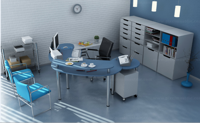 office interior design dwg file