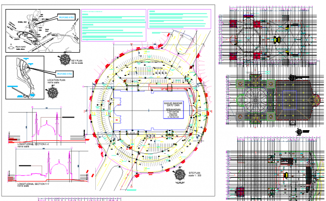 Masjid Plan Dwg File