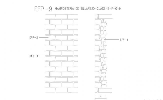 Masonry Details CAD File Free