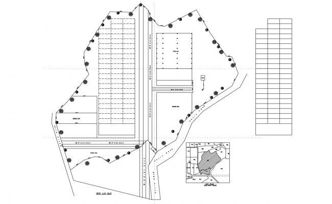 Master Plotting Layout Design CAD File Free  Download