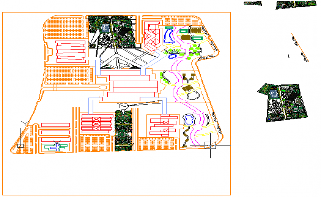 Masterplan of club house