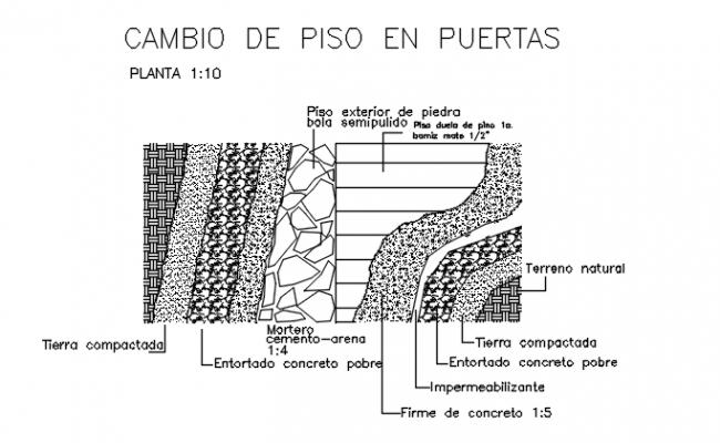 Stone Masonry Design CAD File