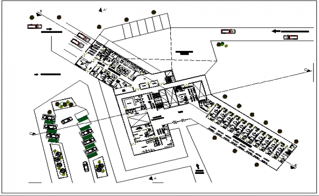 Maternity Pediatric Clinic Architecture Layout Dwg File