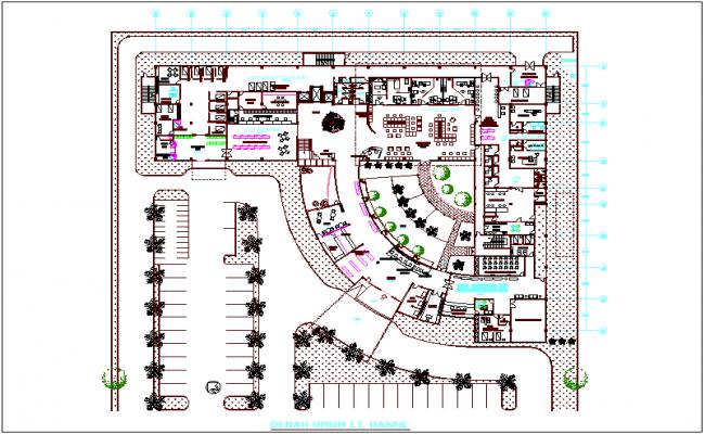 Maternity Hospital Floor Plan Dwg File