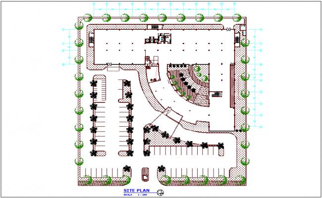 Maternity Hospital Site Plan Dwg File