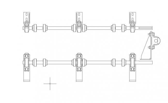 Mechanical Joints Design 2d AutoCAD Drawing Free Download
