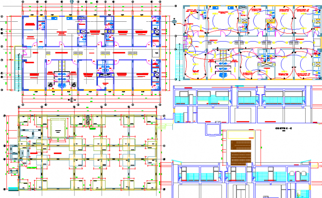 Medical clinic dwg file