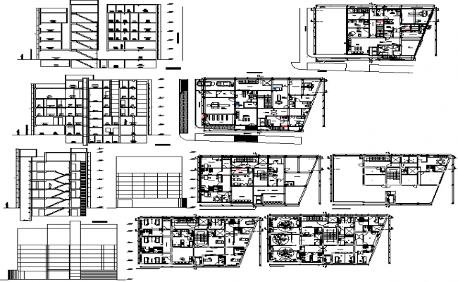 Elevation Plan Details : Medical clinic floor plan elevation detail