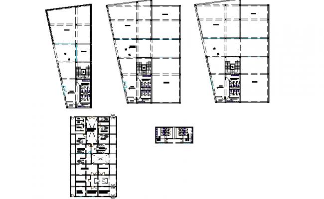 Meeting layout plan detail dwg file
