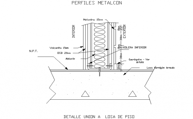 Metalcon constructive system