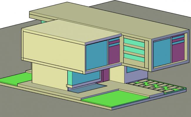 Mini 3 d loft plan detail