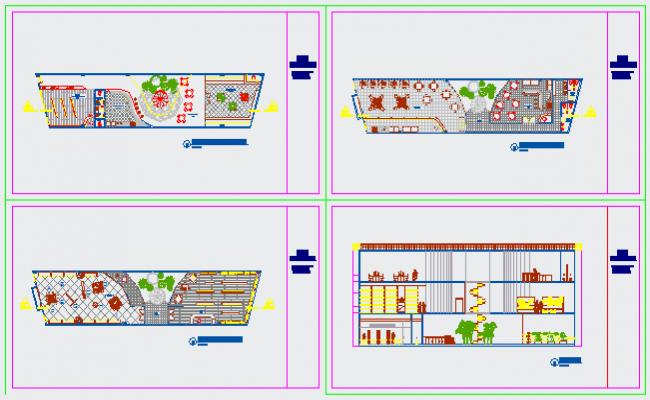 Mini mall project design drawing