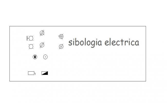 Miscellaneous common symbols blocks details dwg file